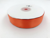 orange. High End Thick . 2.5cm 50 Yards Roll Ribbons