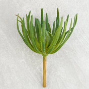 Spikey Green Artificial Succulent Pick for Floral Arranging, Garden Creation and Crafting