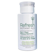 Refresh Botanicals Natural and Organic Eye and Face Makeup Remover, Parabens free, Gluten free, Oil and Alcohol free