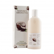 Nature's Absolutes Coconut Oil - 7.4Oz/ 220 ml , 100% Pure , Organic , Cold Pressed For Hair & Skin