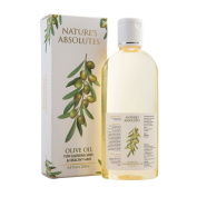 Nature's Absolutes Olive Oil - 6.8Oz/200 ml, 100 % Pure , Cold Pressed & Organic For Hair and Skin