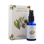 Nature's Absolutes Jojoba Carrier Oil 30 ml 100 % Pure , Cold Pressed & Organic