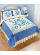 Star Quilt Bedding Separates - Full/Queen