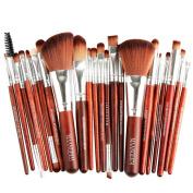 Bolayu 22pcs Makeup Brush Blusher Eye Shadow Brushes Set Cosmetic Kit