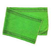 NovaLava Exfoliating Back Scrub Bath Long Italy Towel made in Korea