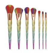 7PCS Eyebrow Eyeliner Blush Cosmetic Concealer Make Up Foundation Brushes - Bolayu