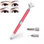 Bolayu Eyebrow Tattoo Pen Manual Makeup Microblading Pencil