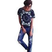 Bolayu Summer Tshirt Women Tank Tops Blouse Short Sleeve Tops