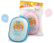 Pororo Baby Bath Sponge Gentle Exfoliating Shower sponge