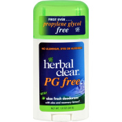 Herbal Clear Deodorant Stick - Aloe Fresh - Pg Free - 50ml