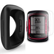 TUSITA Silicone Case Cover + Screen Protector For Garmin Edge 200/500 GPS Bike computer