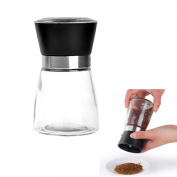 HUELE High Grips Glass Salt or Pepper Grinder