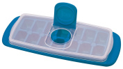MSC International Joie No Spill Covered Ice Cube Tray with Lid, BPA-Free Plastic, 14-Cubes