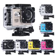 1080P Action Sports Camera -Self Timer,Tuscom Waterproof ( 30 Metres Under Water) Action Camera (3.8cm Ultra HD Screen)Camcorder HD 1080P Mini DV Cam