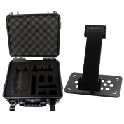 TopTops Waterproof Suitcase + Phone Tablet Holder Bracket of Remote Controller for DJI Mavic Pro Drone