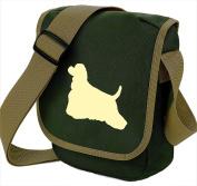 American Cocker Spaniel Dog Bag Reporter Bag Shoulder Bag American Cocker Silhouette American Cocker Gift Choice of Colours