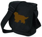 Cavapoo Bag Reporter Bag Shoulder Bag Cavapoo Silhouette Cavapoo Gift Choice of Colours