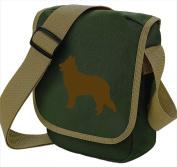 Belgian Shepherd Dog Bag Reporter Bag Shoulder Bag Belgian Shepherd Silhouette Belgian Shepherd Gift Choice of Colours