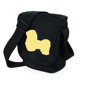 Shih Tzu Bag Reporter Bag Shoulder Bag Shih Tzu Silhouette Shih Tzu Gift Choice of Colours