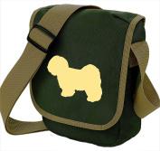 Lhasa Apso Bag Reporter Bag Shoulder Bag Lhasa Silhouette Lhasa Apso Gift Choice of Colours