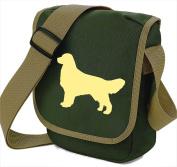 Golden Retriever Bag Reporter Bag Shoulder Bag Golden Retriever Silhouette Golden Retriever Gift Choice of Colours
