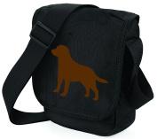 Labrador Dog Bag Reporter Bag Shoulder Bag Labrador Retriever Silhouette Labrador Gift Choice of Colours