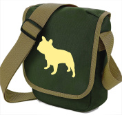 French Bulldog Bag Reporter Bag Dog Walkers Shoulder Bag Frenchie Silhouette French Bulldog Gift Choice of Colours