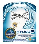 Wilkinson Sword 70010230 Hydro 5 Razor Blades for Men, Pack of 8