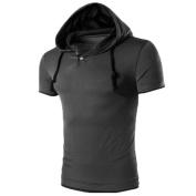 Men T-Shirts,FUNIC Men Summer Fashion Hooded Pullover Short Sleeve T-shirt