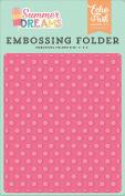 Echo Park Paper Company DR126031 Embossing Folder -Sunny Dot