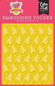 Echo Park Paper Company SF125032 Embossing Folder -Perfect Palm