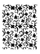 Ultimate Crafts Embossing Folder Clover Garden