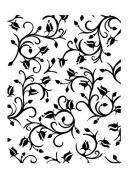 Ultimate Crafts Embossing Folder Dancing Roses