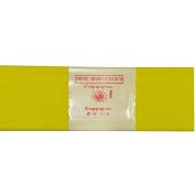 Alberts Large Crepe Paper - Yellow - 50cm x 250cm