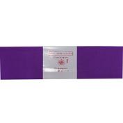 Alberts Large Crepe Paper - Dark Purple - 50cm x 250cm