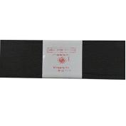 Alberts Large Crepe Paper - Black - 50cm x 250cm