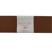 Alberts Large Crepe Paper - Dark Brown - 50cm x 250cm