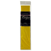 Icon Craft, Large Crepe Paper - Daffodil Yellow - 50cm x 250cm