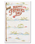 American Greetings Beach Father's Day Card with Cord
