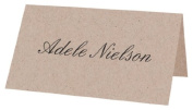 50kg Blank Place Card - Desert Storm, 25 pack