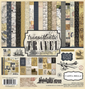 Carta Bella Paper Company Transatlantic Travel Collection Kit