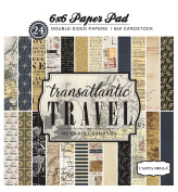 Carta Bella Paper Company Transatlantic Travel 6x6 Pad