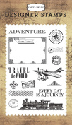 Carta Bella Paper Company Travel the World Stamp