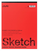 Ucreate 7312 Drawing Pad, 23cm x 30cm , 50 Sheets, 26kg.