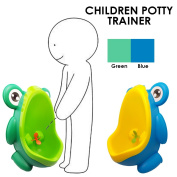 JJOnlineStore - Frog Children Kids Potty Toilet Training Kids Aim Target Windmill Wall Urinal for Boys Pee Stand Trainer Bathroom