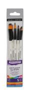 Daler Rowney Graduate 5 Brush Synthetic Watercolour Set
