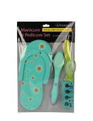 YOUMAXX Manicure & Pedicure set, Green