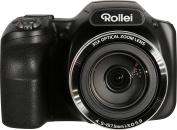 Rollei Powerflex 350 Wi-Fi - Full HD Camera with 16 MP Sony Sensor, Image stabiliser, 26 scene modes - Black