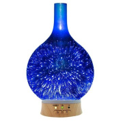 Relaxus Ambience Aromalights Ultrasonic Aroma Diffuser. Aroma Mist Lamp, Dry Air Relief, Coloured LED Light