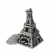 YOur perSOnal . Essential oil diffuser necklace EiffeL TOwer Steampunk b1 0